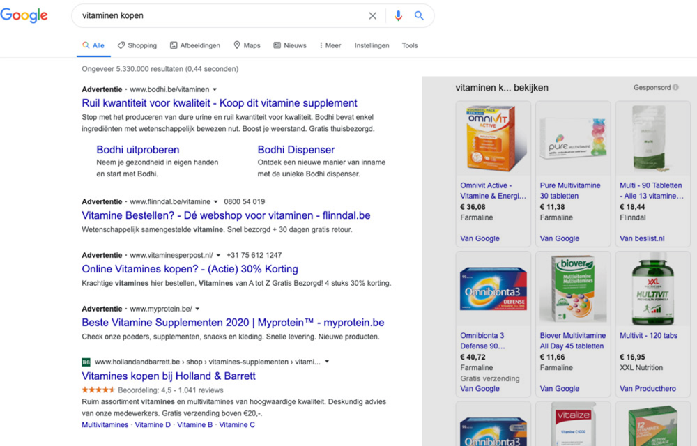Shoppingcampagne Google Ads